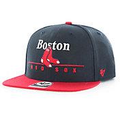 '47 Men's Boston Red Sox Rosemont Captain Adjustable Snapback Hat