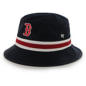 '47 Men's Boston Red Sox Striped Bucket Hat
