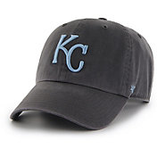 '47 Men's Kansas City Royals Clean Up Grey Adjustable Hat