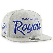'47 Men's Kansas City Royals Honshu Captain Grey Adjustable Snapback Hat