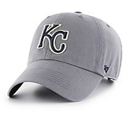 '47 Men's Kansas City Royals Borderline Clean Up Navy Adjustable Hat
