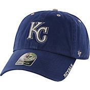 '47 Men's Kansas City Royals Ice Clean Up Royal Adjustable Hat