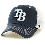 '47 Men's Tampa Bay Rays Taylor Closer Navy Fitted Hat