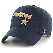 '47 Men's Houston Astros Clean Up Cooperstown Adjustable Hat