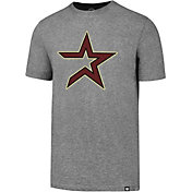 '47 Men's Houston Astros Cooperstown Grey Club T-Shirt