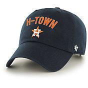'47 Men's Houston Astros Clean Up Navy Adjustable Hat