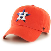 '47 Men's Houston Astros Clean Up Orange Adjustable Hat