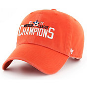 '47 Men's 2017 AL Champions Houston Astros Orange Clean Up Adjustable Hat