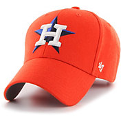'47 Men's Houston Astros MVP Orange Adjustable Hat