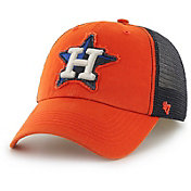 '47 Men's Houston Astros Taylor Closer Orange Fitted Hat