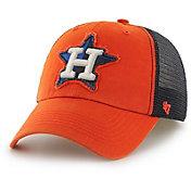 '47 Men's Houston Astros Taylor Closer Orange Fitted Hat