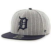 '47 Men's Detroit Tigers Grey Holbrook Adjustable Snapback Hat