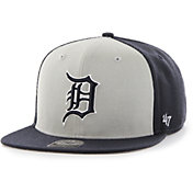 '47 Men's Detroit Tigers Navy Sure Shot Adjustable Snapback Hat