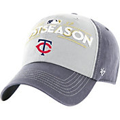 '47 Men's Minnesota Twins 2017 MLB Postseason Locker Room Adjustable Hat