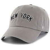 '47 Men's New York Yankees Clean Up Grey Adjustable Hat