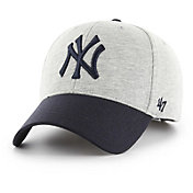'47 Men's New York Yankees Retent MVP Grey Adjustable Hat