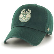 '47 Men's Milwaukee Bucks Green Clean Up Adjustable Hat