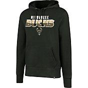 '47 Men's Milwaukee Bucks Green Pullover Hoodie
