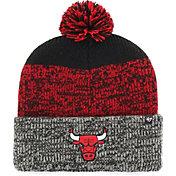 '47 Men's Chicago Bulls Static Black Knit Hat
