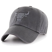 '47 Men's Chicago Bulls Grey Clean Up Adjustable Hat