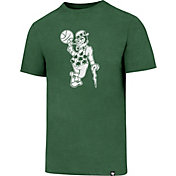 '47 Men's Boston Celtics Club Lucky Man Kelly Green T-Shirt