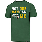 "'47 Men's Boston Celtics Club ""Not One Man Can Gaurd Me"" Kelly Green T-Shirt"