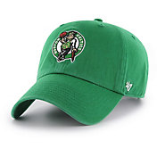 '47 Men's Boston Celtics Kelly Green Clean Up Adjustable Hat