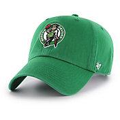 '47 Men's Boston Celtics Kelly Green Clean Up Adjustable Hat