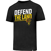 '47 Men's Cleveland Cavaliers Defend The Land Black T-Shirt