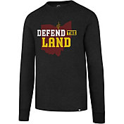 '47 Men's Cleveland Cavaliers Defend The Land Black Long Sleeve Shirt