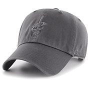 '47 Men's Cleveland Cavaliers Grey Clean Up Adjustable Hat