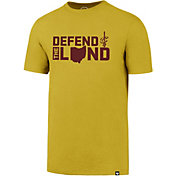 '47 Men's Cleveland Cavaliers Defend The Land Gold T-Shirt