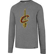 '47 Men's Cleveland Cavaliers Club Grey Long Sleeve Shirt