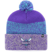 '47 Men's Charlotte Hornets Static Purple Knit Hat