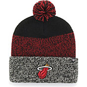 '47 Men's Miami Heat Static Black Knit Hat