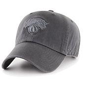 '47 Men's New York Knicks Grey Clean Up Adjustable Hat
