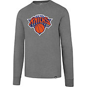 '47 Men's New York Knicks Club Grey Long Sleeve Shirt