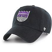 '47 Men's Sacramento Kings Black Clean Up Adjustable Hat