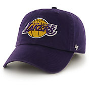 '47 Men's Los Angeles Lakers Purple Clean-Up Adjustable Hat
