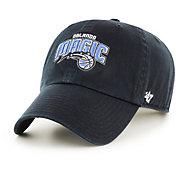 '47 Men's Orlando Magic Black Clean-Up Adjustable Hat