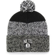'47 Men's Brooklyn Nets Static Black Knit Hat