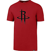 '47 Men's Houston Rockets Splitter Logo Red T-Shirt