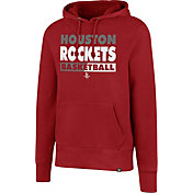 '47 Men's Houston Rockets Red Pullover Hoodie
