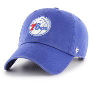 '47 Men's Philadelphia 76ers Royal Clean Up Adjustable Hat