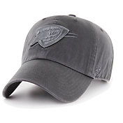 '47 Men's Oklahoma City Thunder Grey Clean Up Adjustable Hat