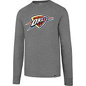 '47 Men's Oklahoma City Thunder Club Grey Long Sleeve Shirt