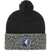 '47 Men's Minnesota Timberwolves Static Black Knit Hat