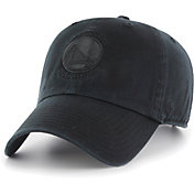 '47 Men's Golden State Warriors Black Clean Up Adjustable Hat