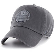 '47 Men's Golden State Warriors Grey Clean Up Adjustable Hat