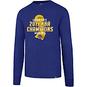 '47 Men's 2017 NBA Champions Golden State Warriors Royal Long Sleeve Shirt